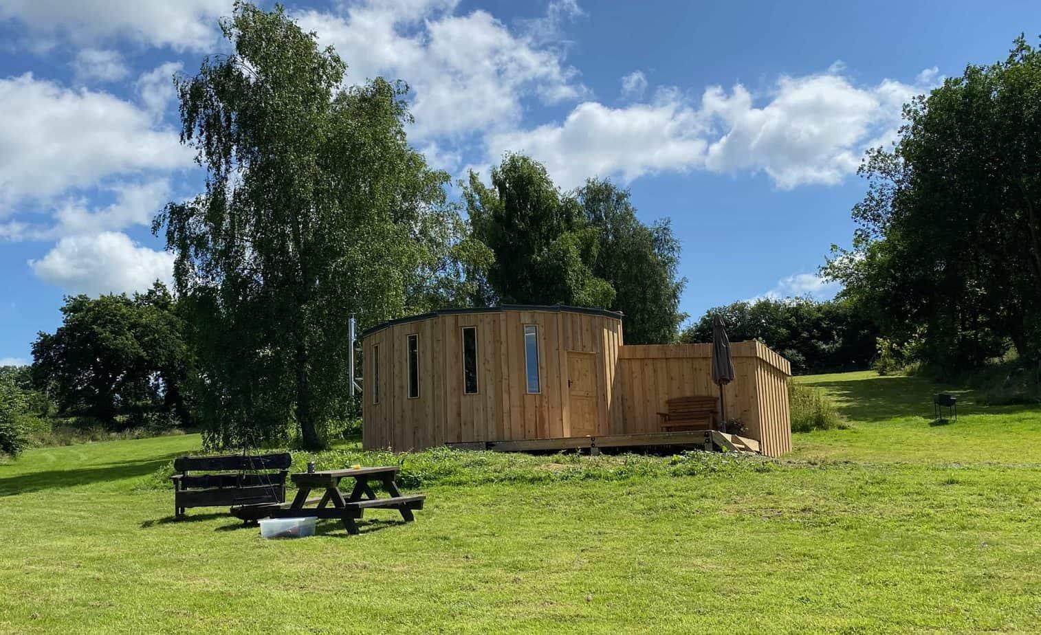 Cedar Yurt